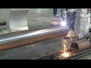 CNC 3軸等離子火焰管旋轉管鋼切割機