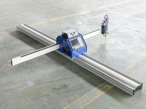 低成本小型鋼板cnc等離子火焰切割機