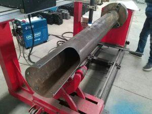 旋轉軸數控圓管低成本數控等離子切割機