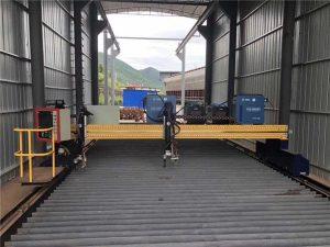 鋼板1500x3000mm尺寸cnc等離子鈑金切割機